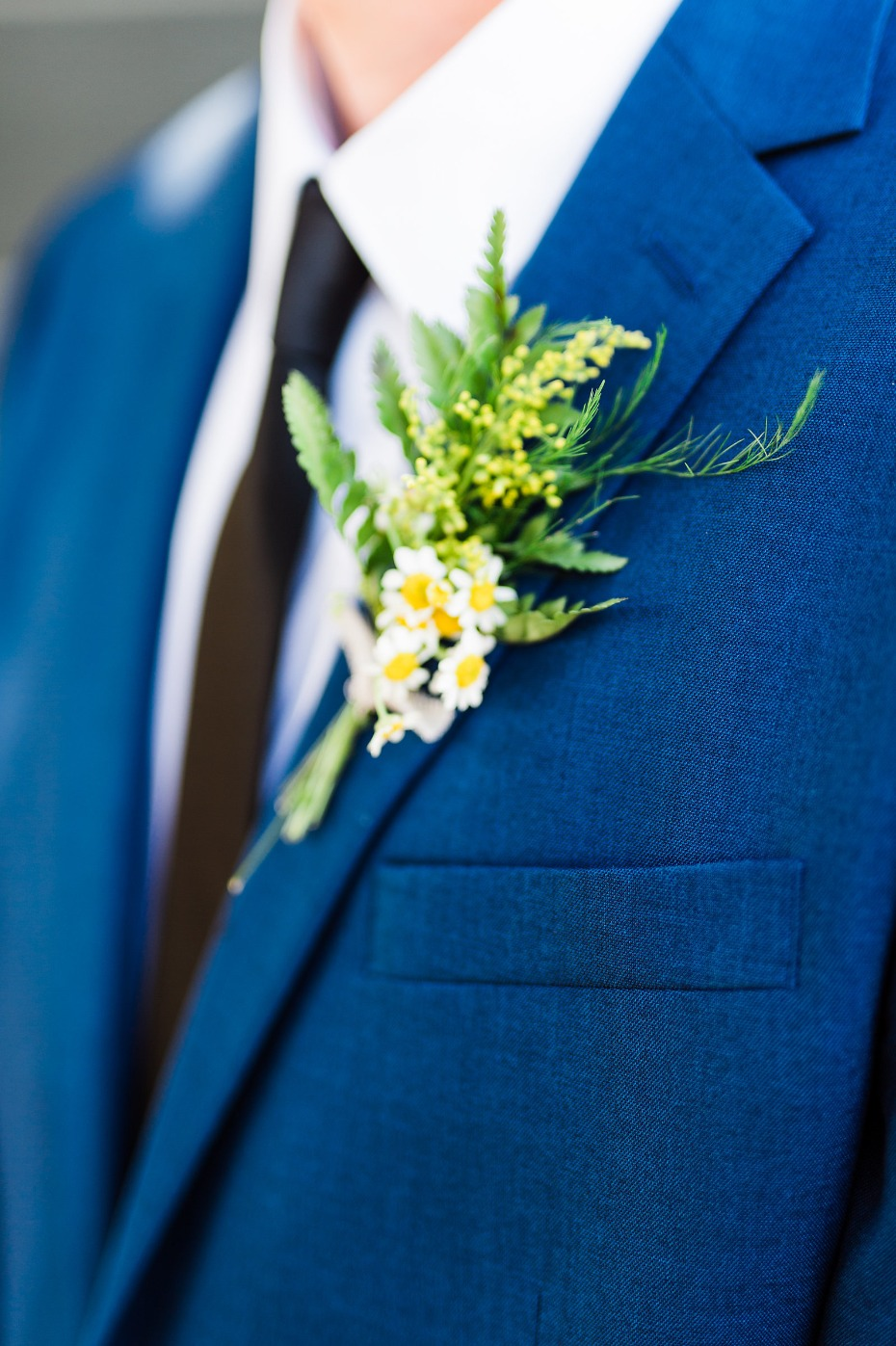Summertime boutonniere