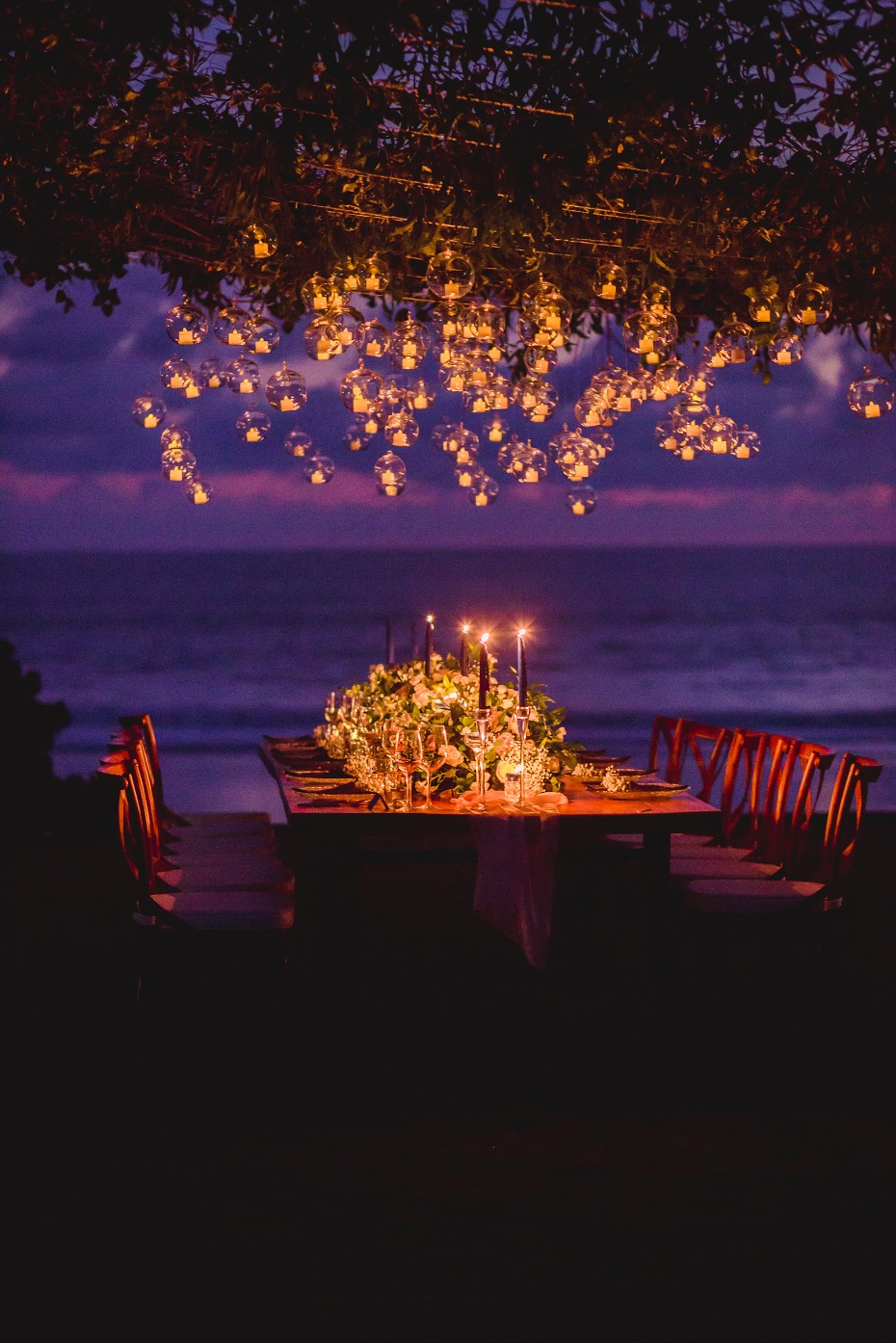 Magical reception lighting