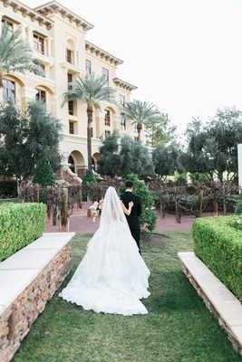This Blush and Greenery Garden Romance Wedding is a Home Run