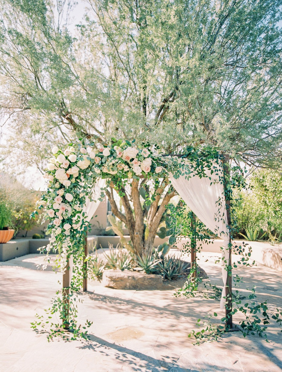flower arch for your wedding ceremony backdrop