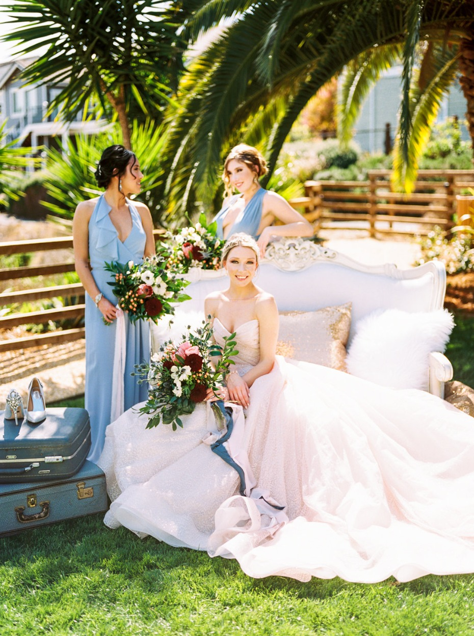 Tropical garden wedding inspiration