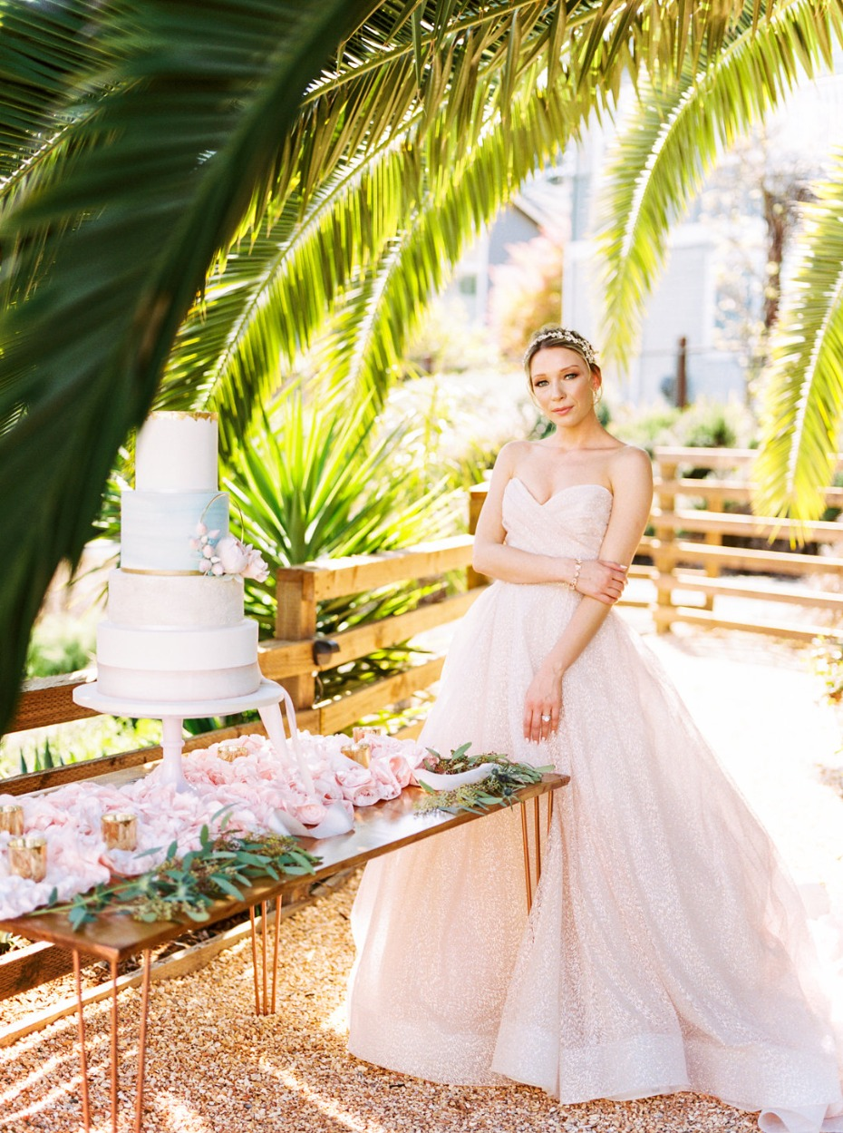 Elegant tropical glam wedding ideas