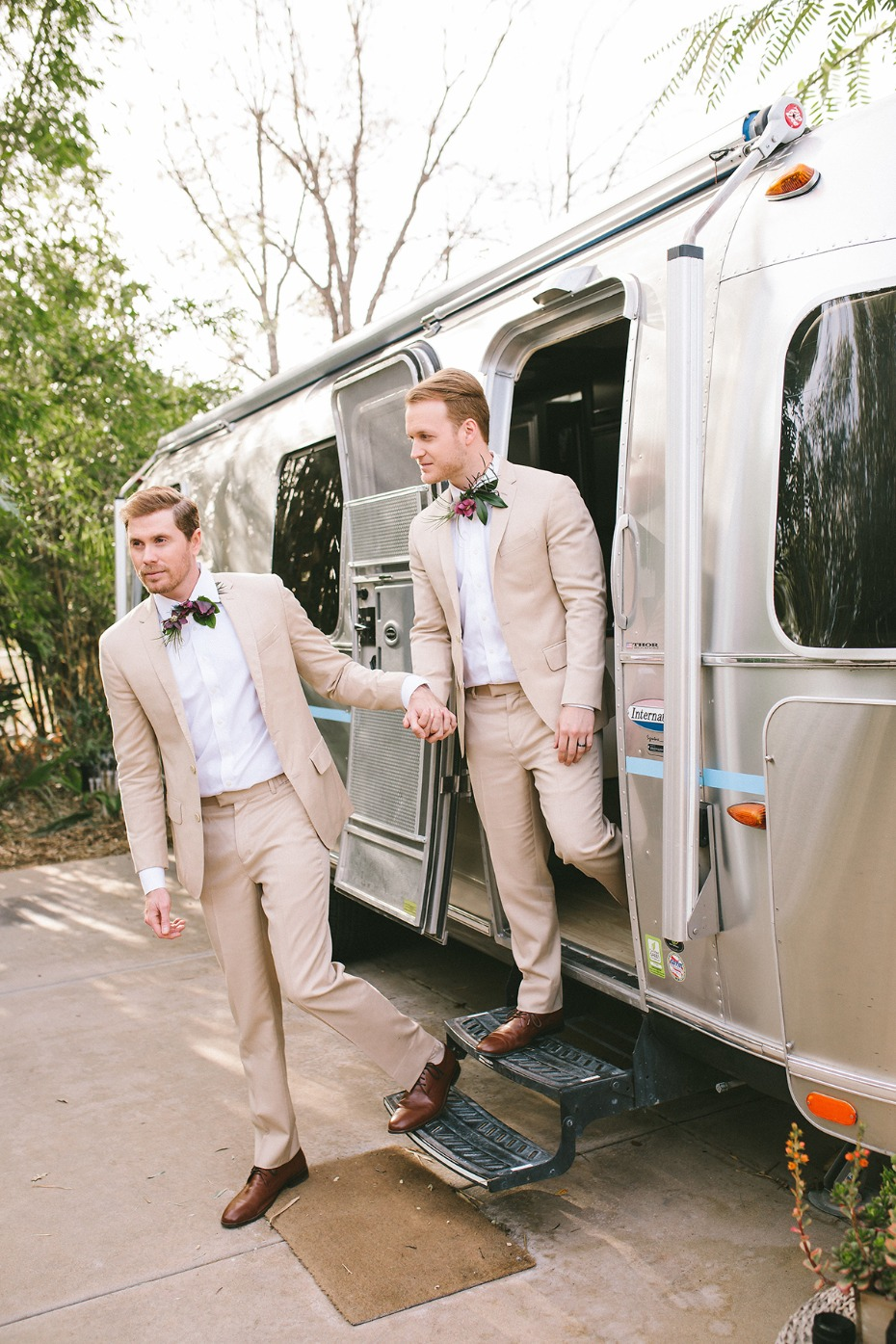 air stream wedding elopement