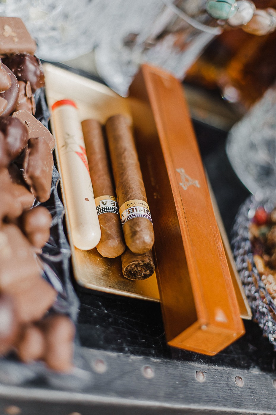 Cigars for a whisky bar