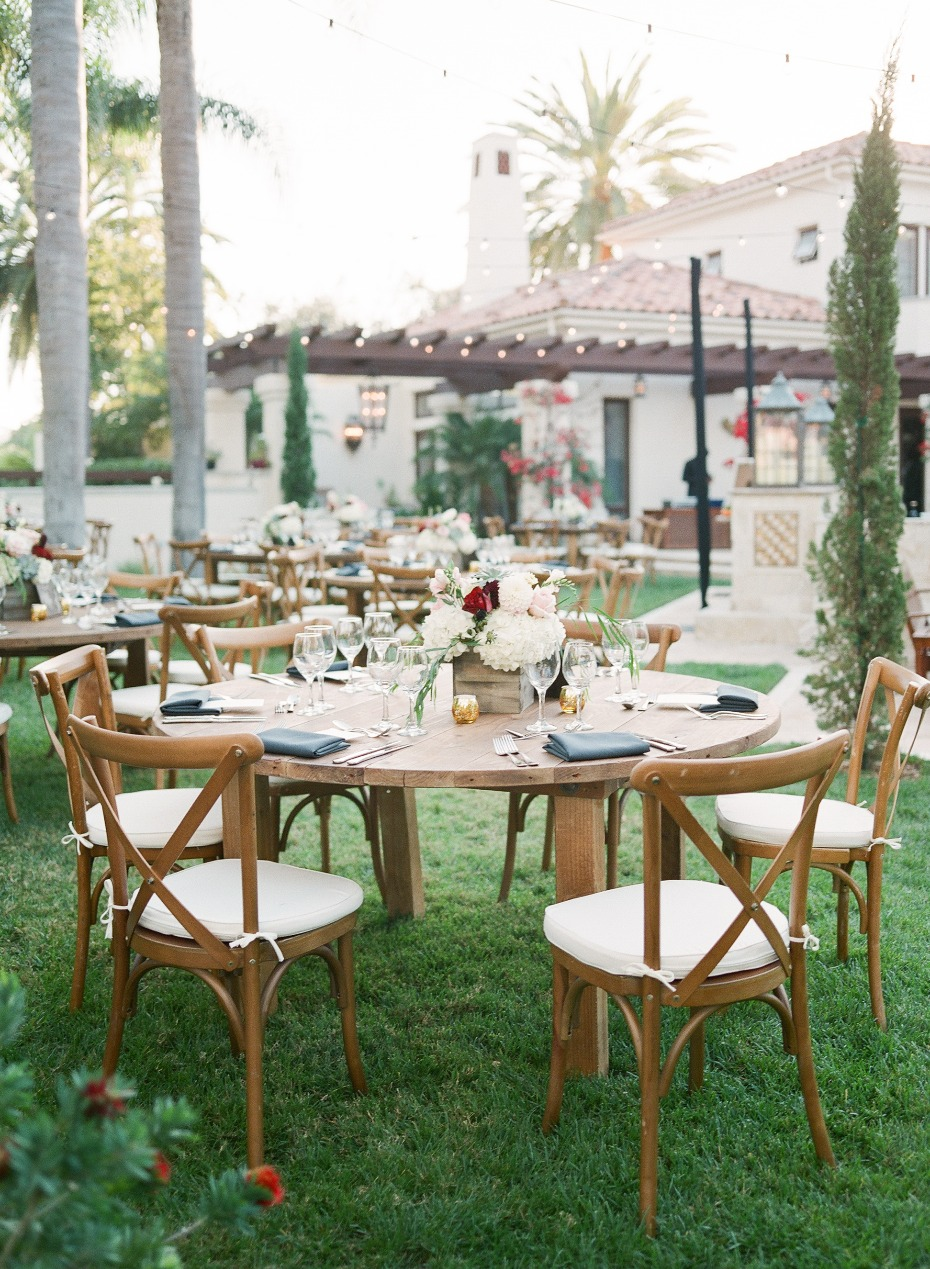 Natural outdoor reception