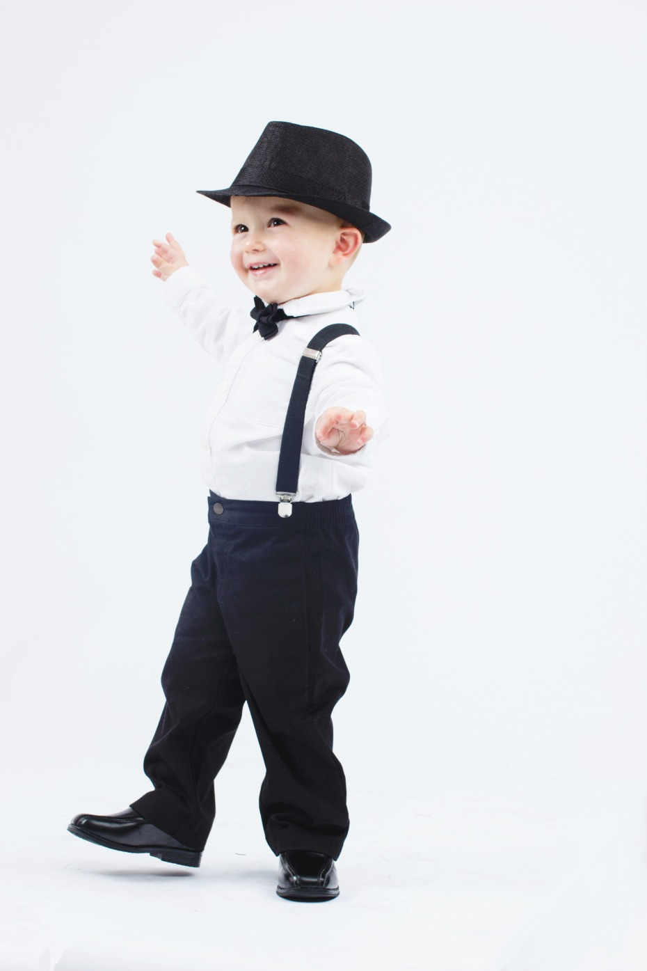 Armoniia Ring Bearer Fedora Set