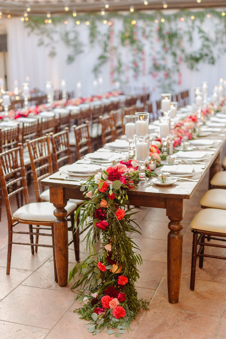 family style seating for your reception