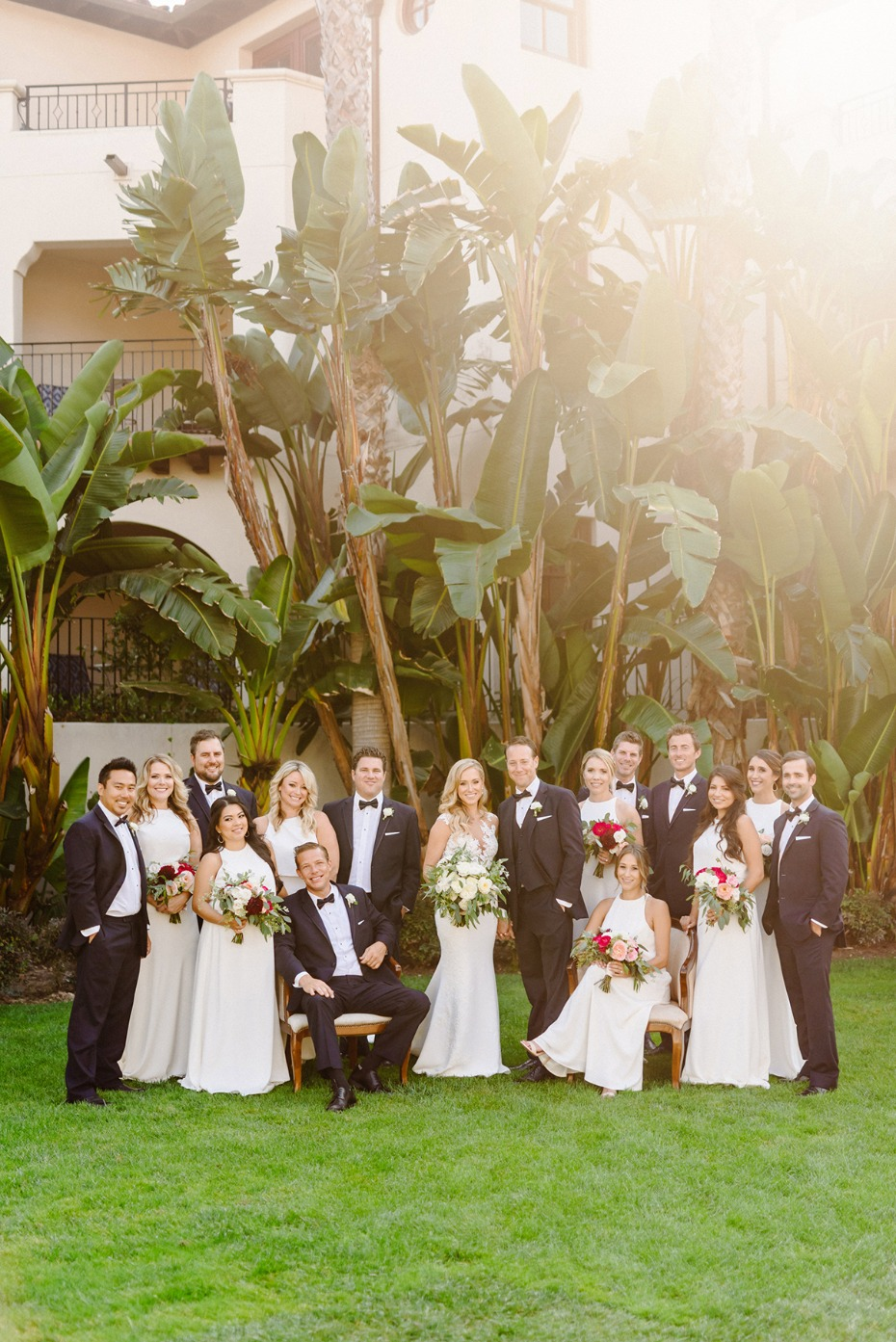 This Pink And Gold Sunset Wedding In California Is A Dream
