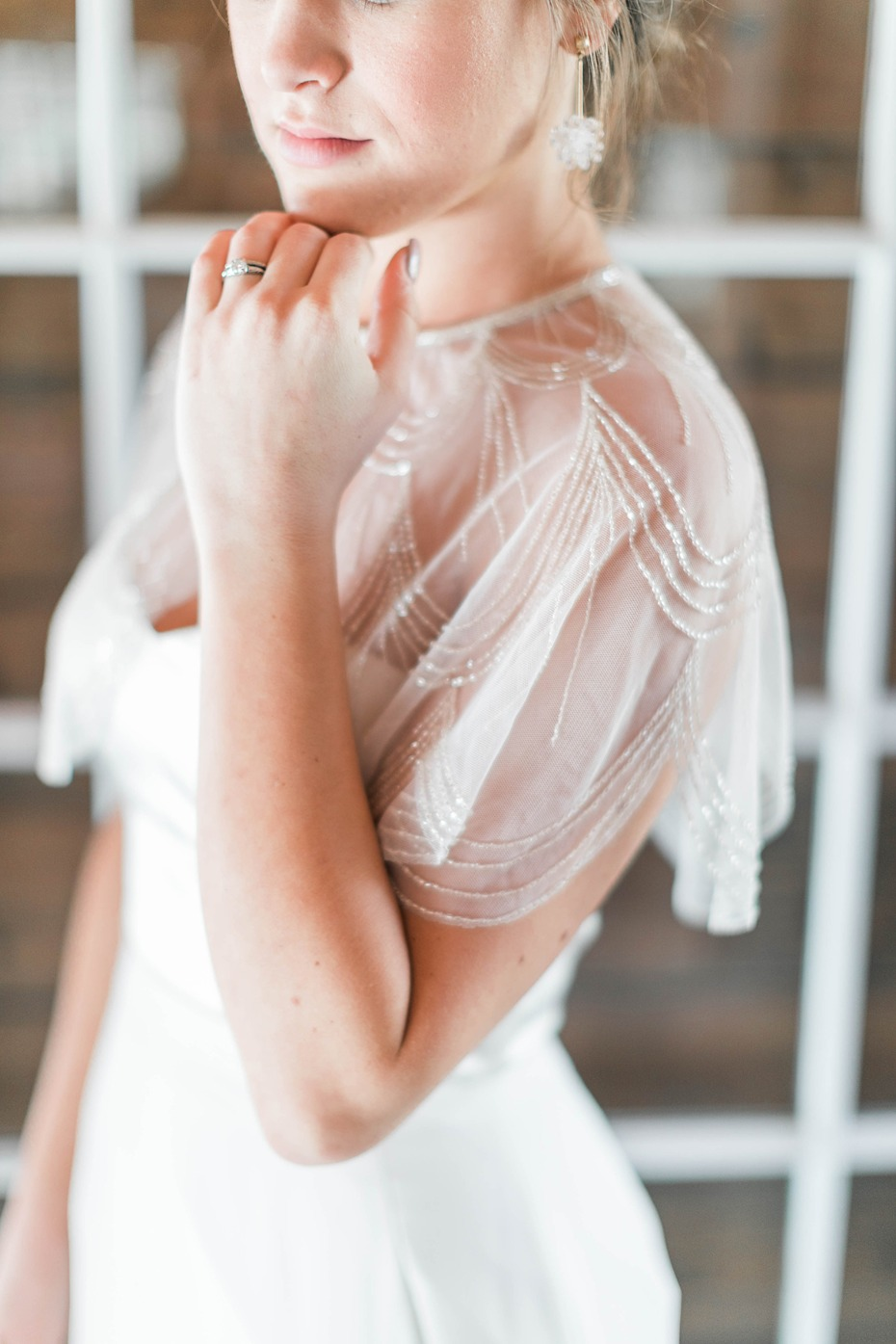 sweet bridal shoulder cover