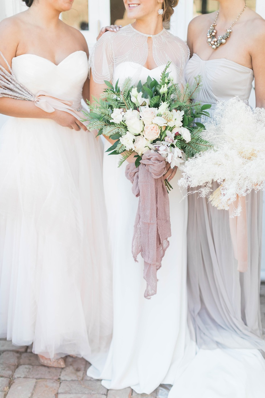 Elegant Blush and White Winter To Spring Wedding Ideas