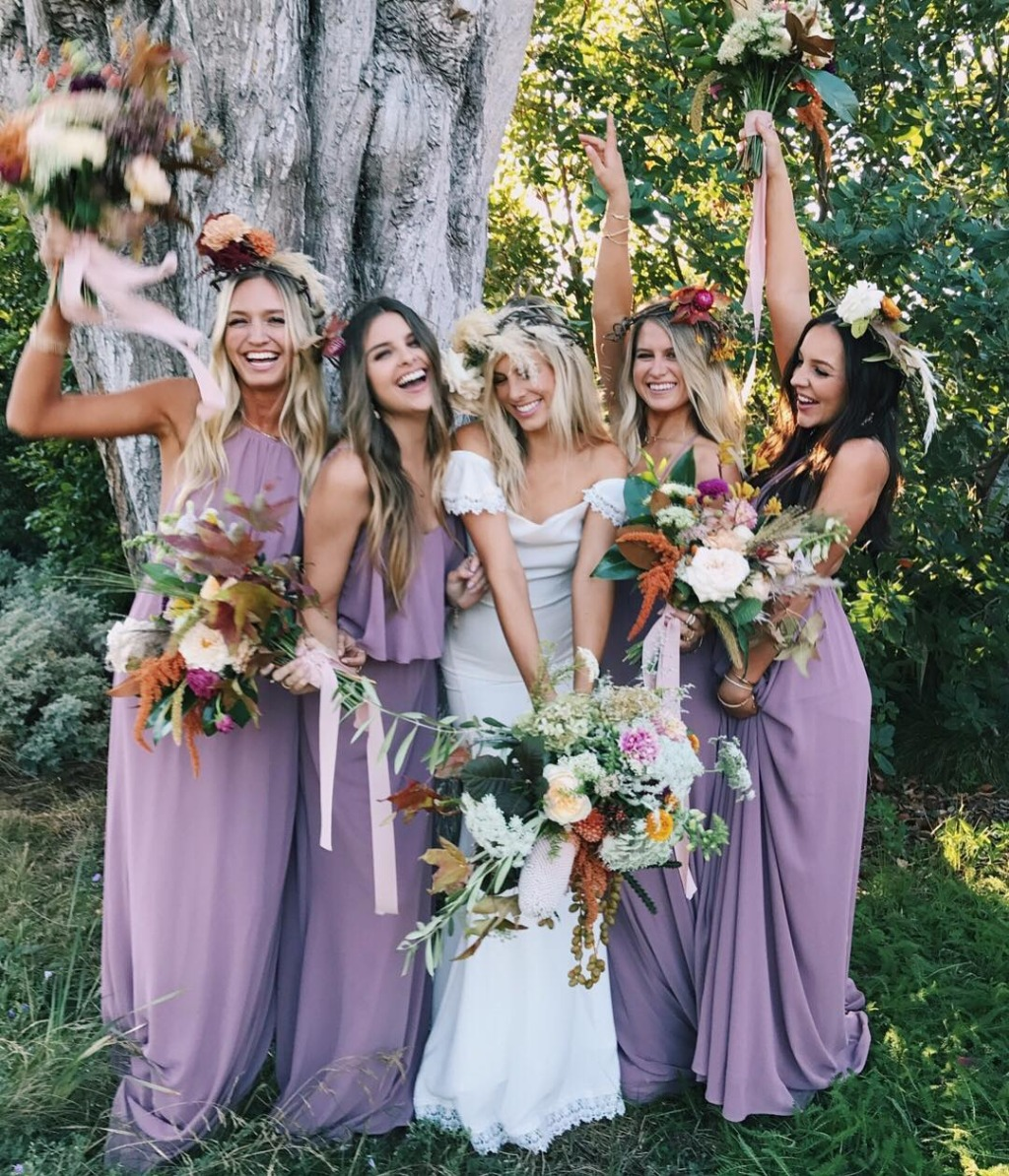 Bridal Party Shining in Show Me Your Mumu