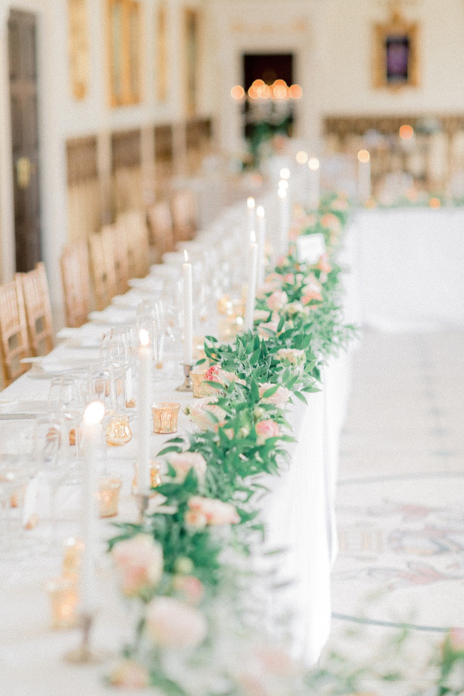 Greenery head table