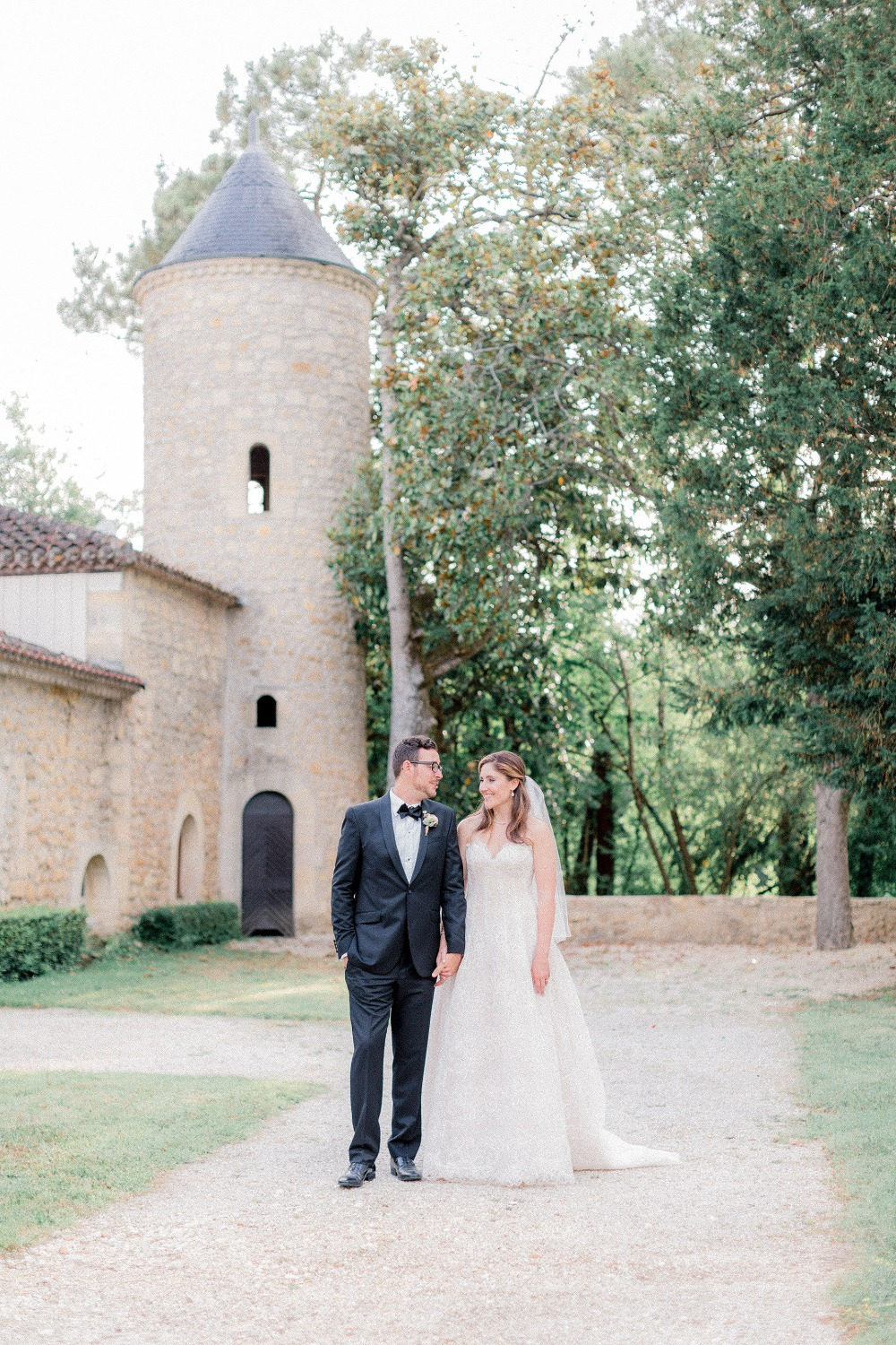 Beautiful French Chateau wedding