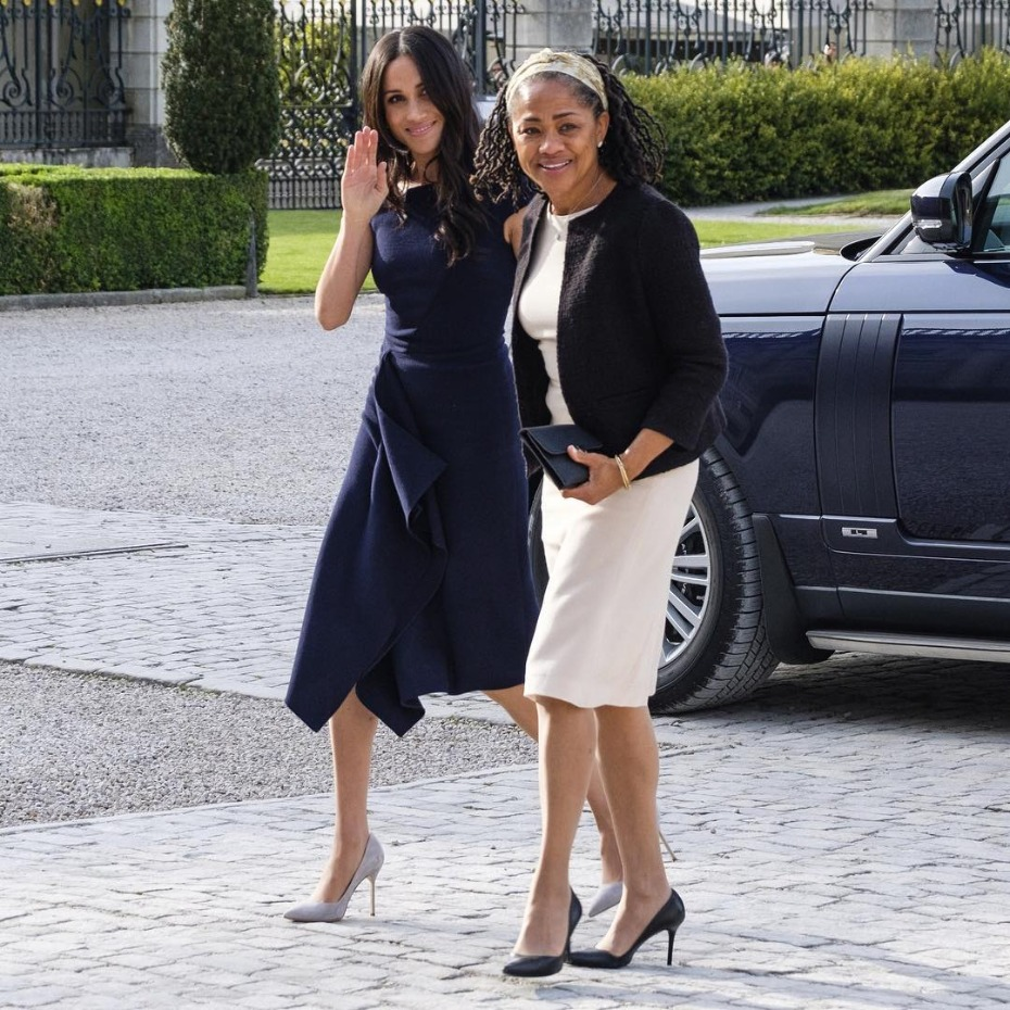 Meghan Markle and Her Mother Night Before Wedding