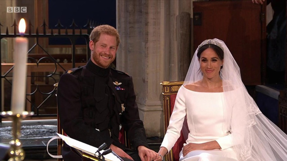 Meghan Markle and Prince Harry Wedding Ceremony