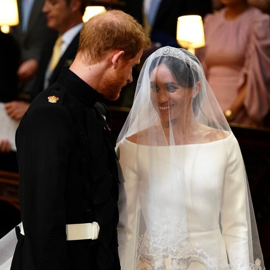 Meghan Markle and Prince Harry at High Altar