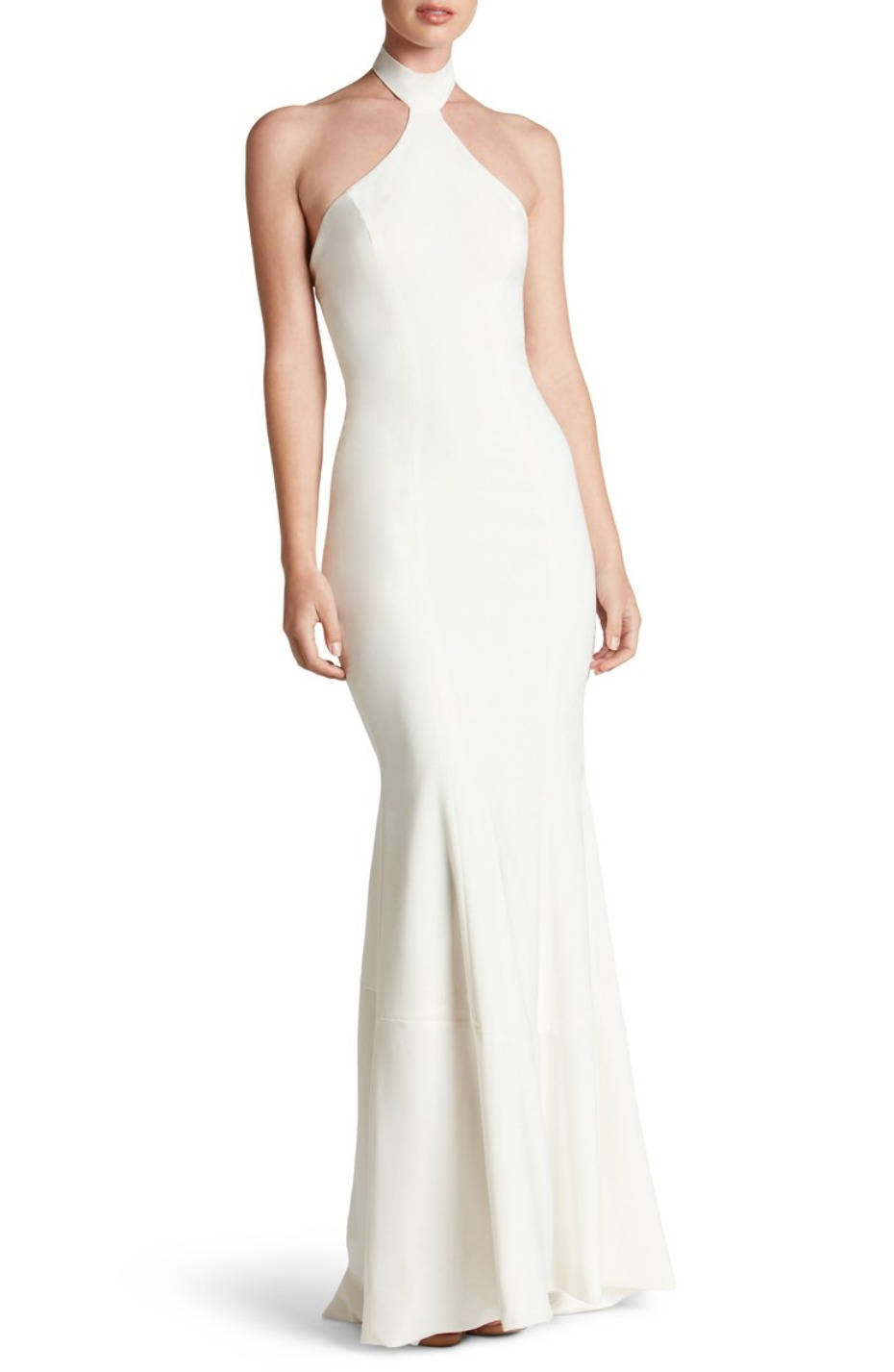 Dress the Population Halter Gown