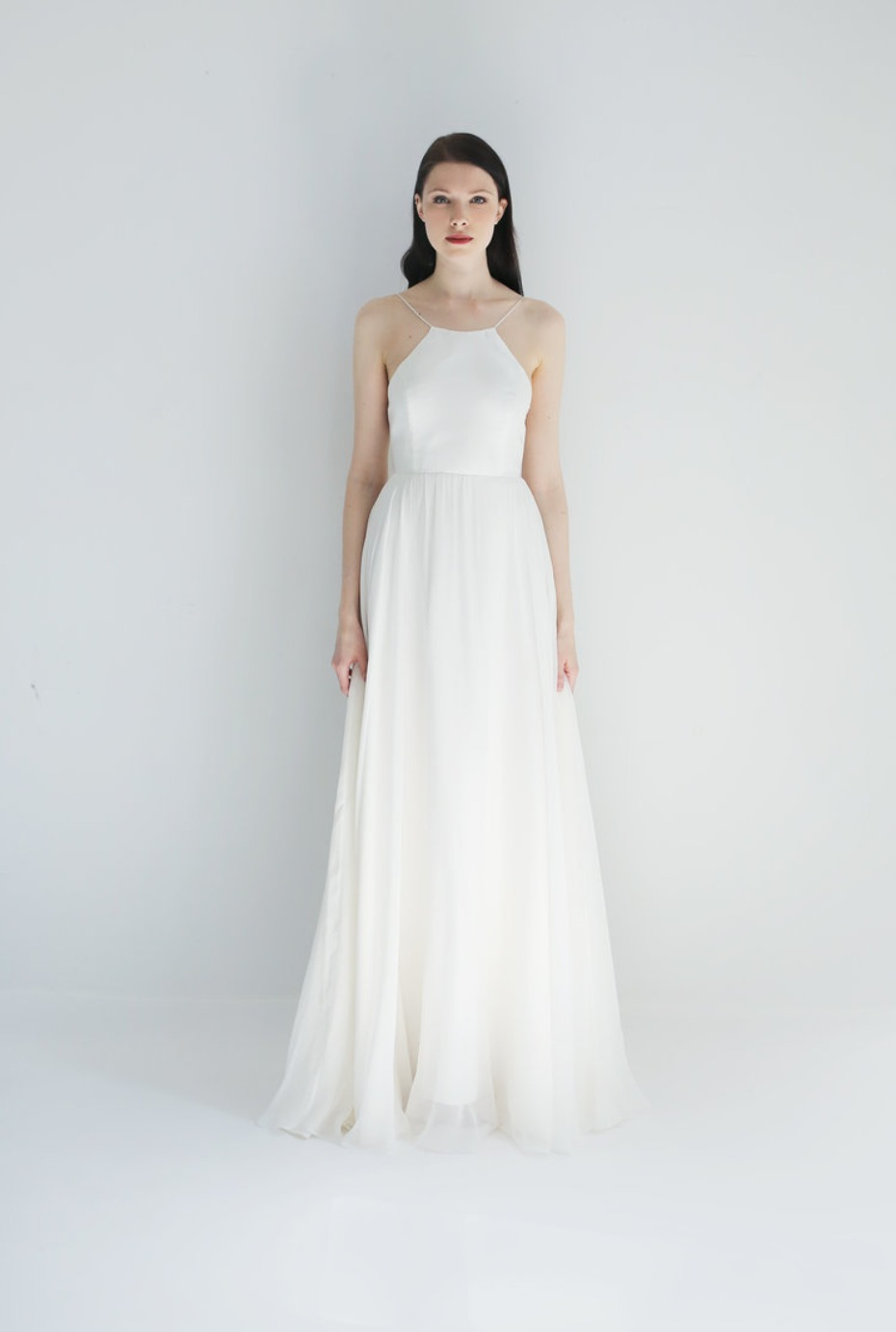 Leanne Marshall Halter Tulle Gown
