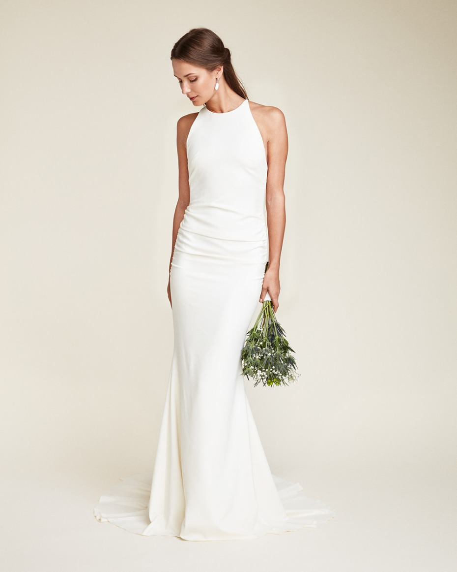 Nicole Miller High Neck Morgan Gown