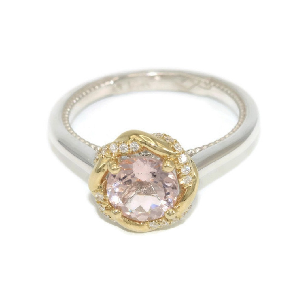 Morganite is the ideal light pink natural stone that looks perfect in the modern Engagement rings.