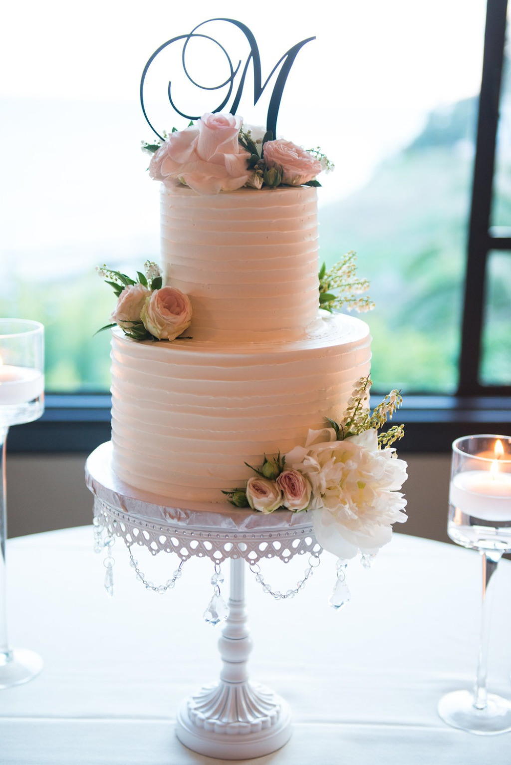 Wedding Cake with a view! Opulent Treasures Cake Stands will spotlight your sweet celebration! We offer a gorgeous selection of cake