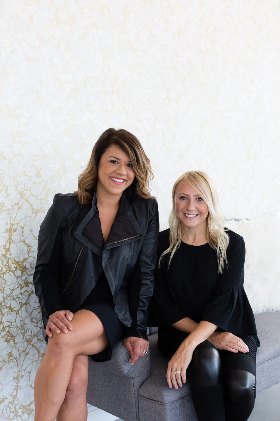 Amber Rigney and Dawn Silva-Rigney, owners of Kinsley James Couture Bridal Salon