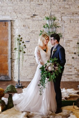 How To Create Your Own Urban Fairytale Wedding Day