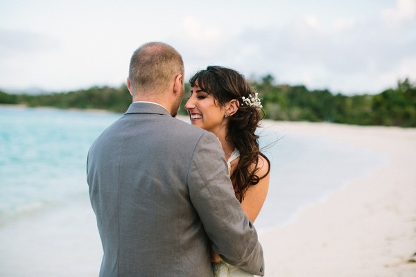 Get Married with Your Toes in the Sand Like This Couple Did