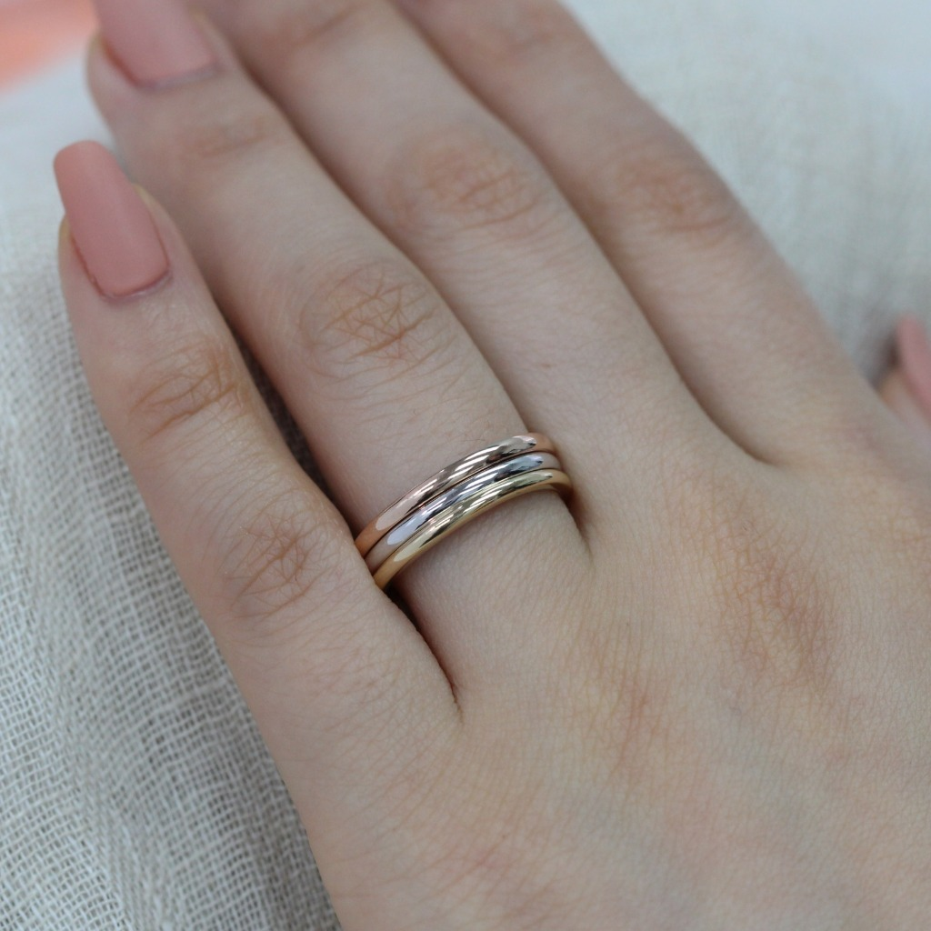 Like the new Duchess, we too have plain gold wedding bands for our brides that love simple yet elegant jewelry. See more from our Etsy