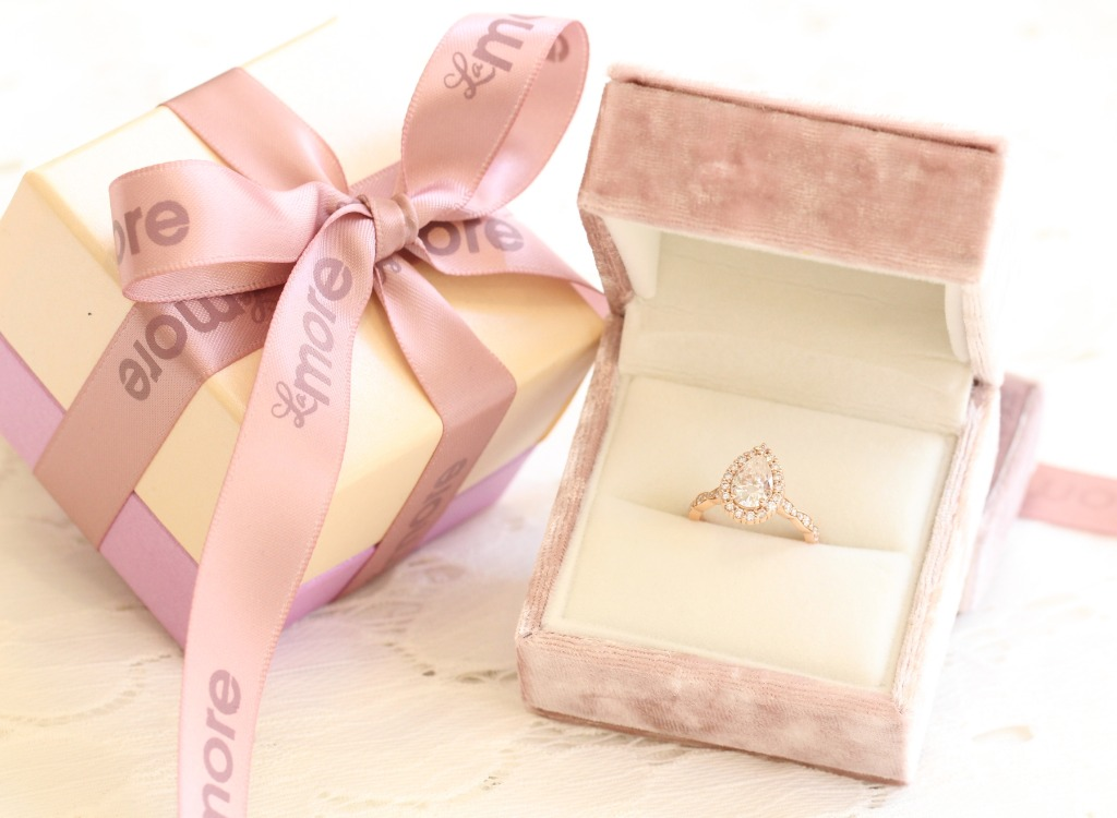 A gift you'll never forget; Shop for your dream engagement ring or wedding band by La More Design today!