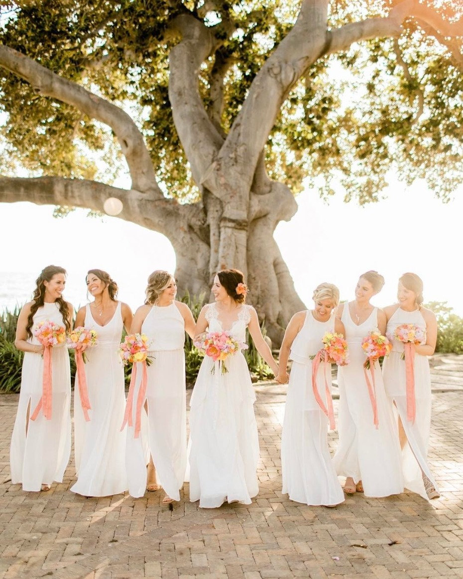 You need your girls by your side on your wedding day!