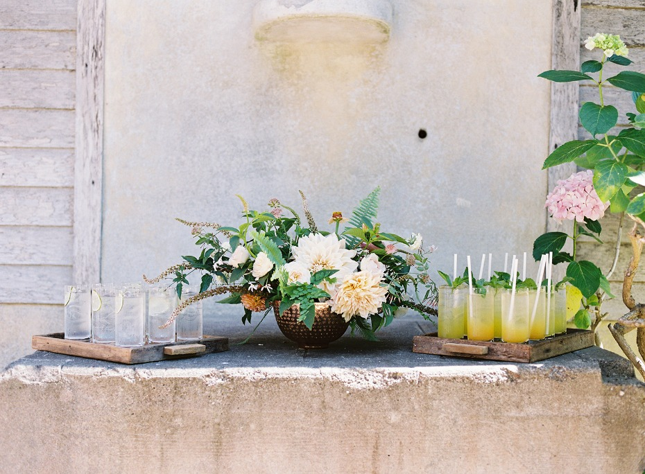 Cocktails for the ceremony