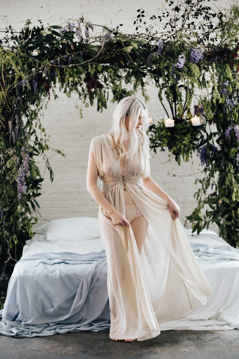 night dress from BHLDN