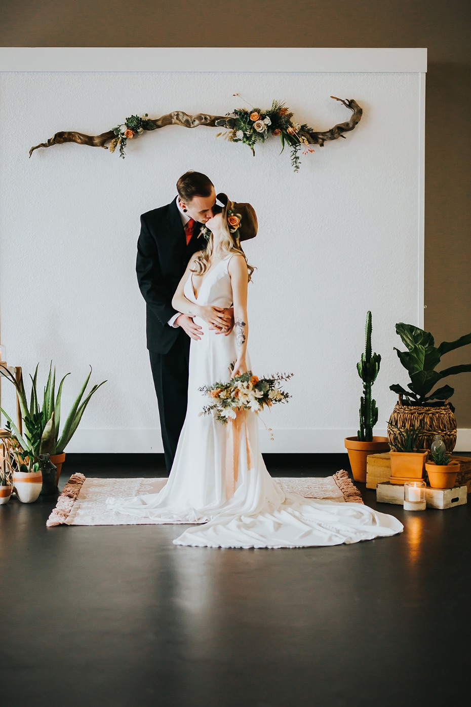 Desert wedding inspiration from Portland