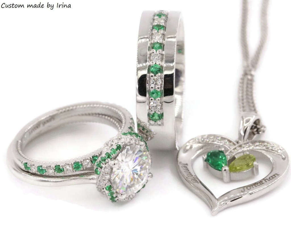 Fall in love with May birthstone - Emerald.