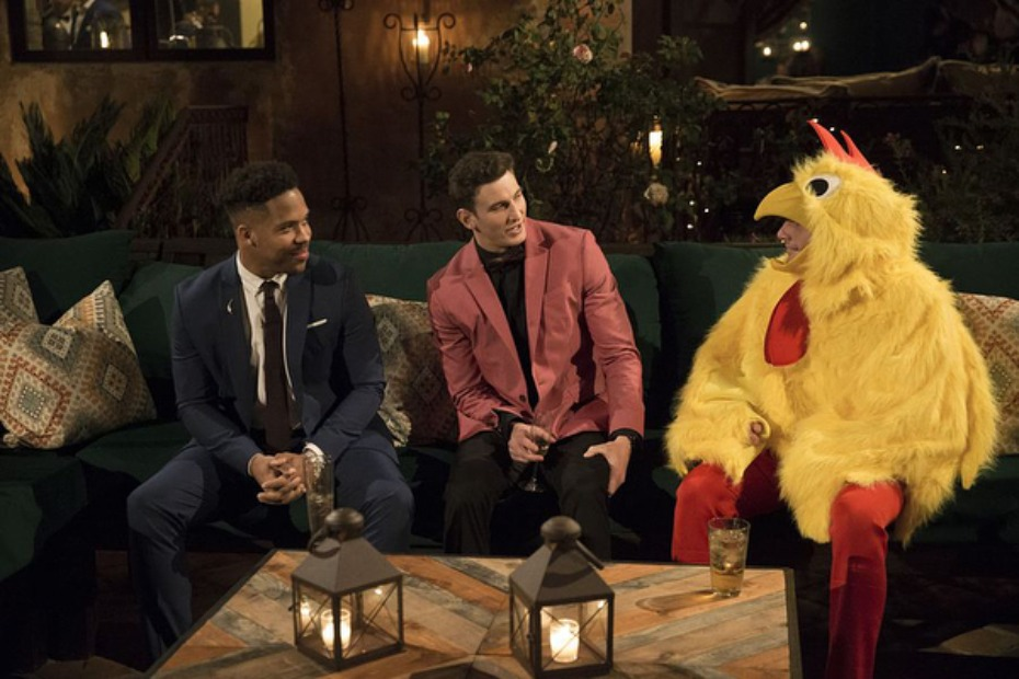 The Bachelorette Chicken Blake and Other Contestant