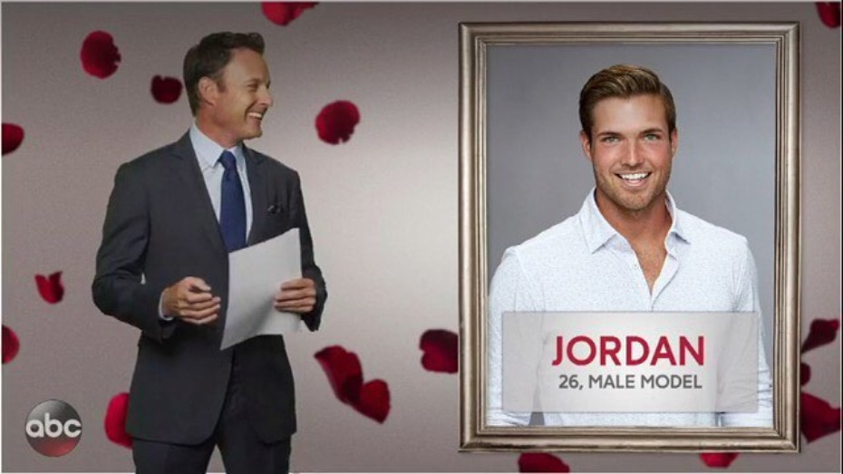 The Bachelorette Jordan Male Model