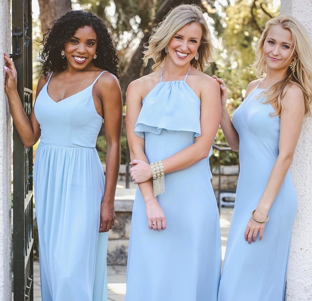 Something old, plenty of new, forever obsessed with bridesmaids in blue!💙