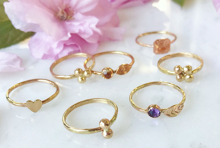 Gold Nugget jewelry 😍 what's your favorite number?