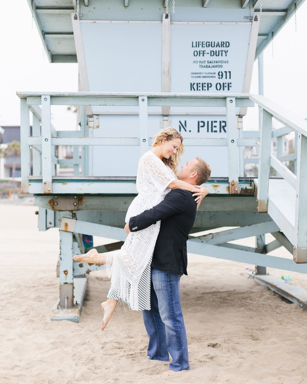 Sneak peek of this fun Manhattan Beach engagement session! 🎉I've known Jessie since I first moved to LA more than 6 years ago (