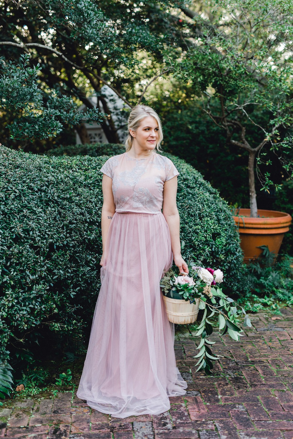 This Organic Garden Wedding Inspiration will Brighten Your Day