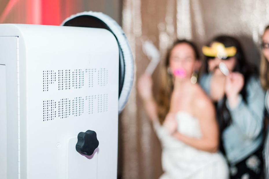 photo booth for your reception