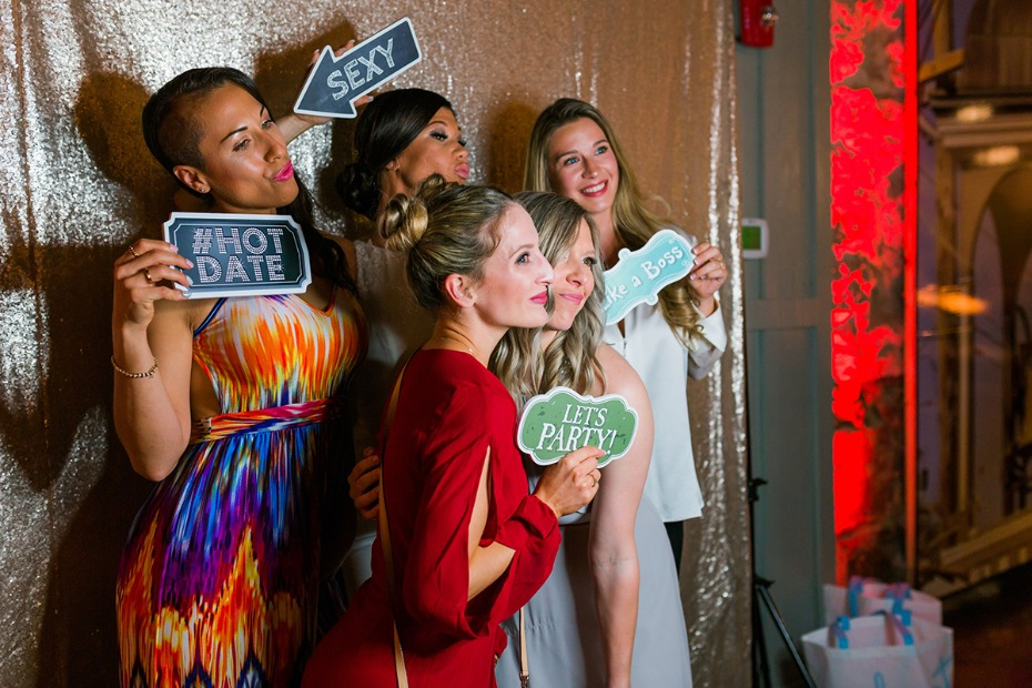 fun photo booth for your reception