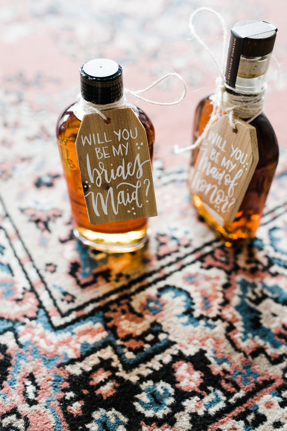Bourbon for the bridesmaids