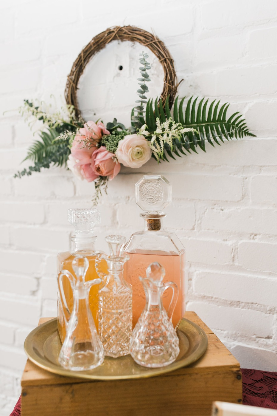 Bourbon bar DIY