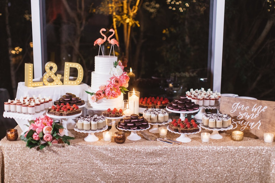 Fancy dessert table