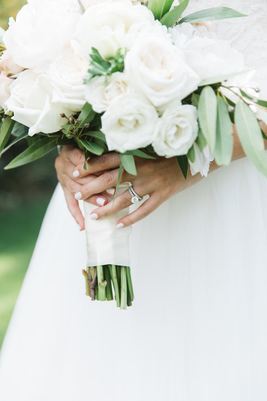 Bridal nails and ring