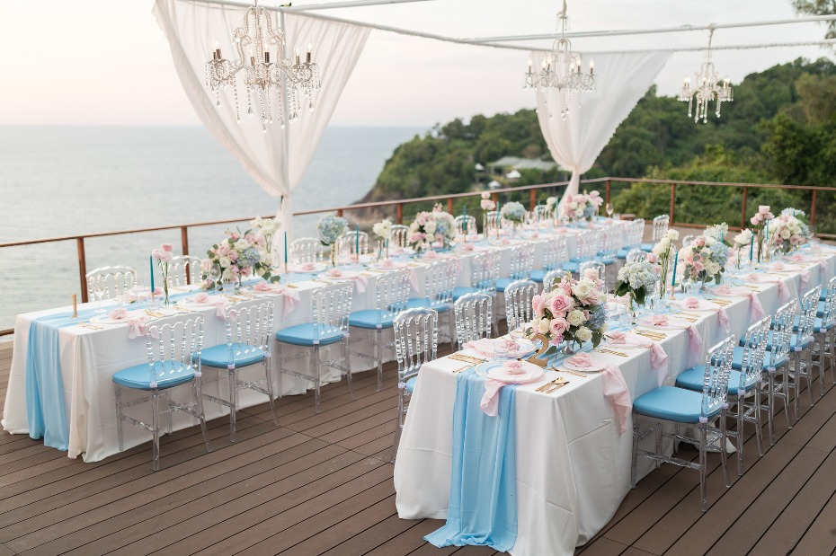 Glam wedding in Phuket