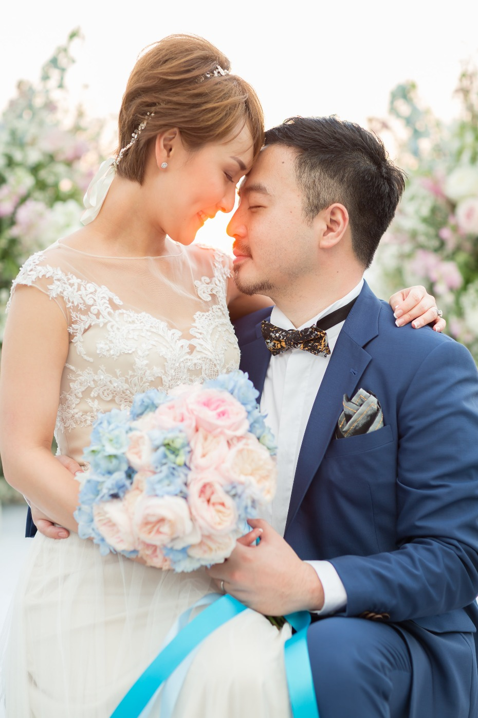 Romantic destination wedding in Thailand