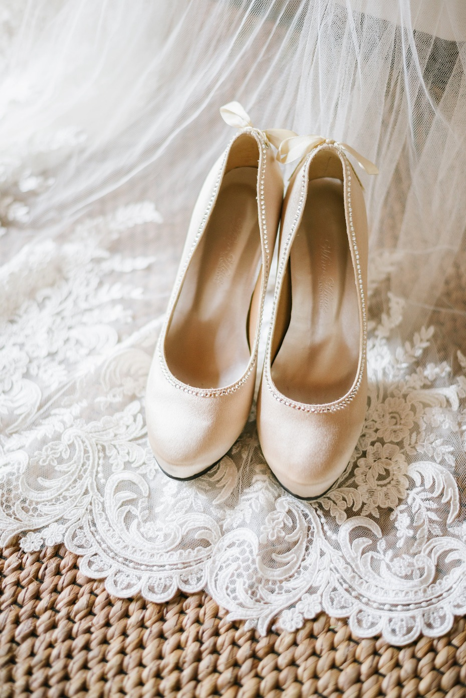 Pretty wedding heels